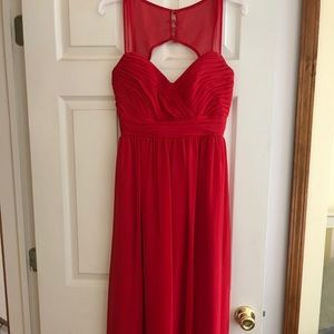 Alfredo Angelo red dress!